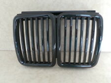 BMW 3 SERIES E30 1982-1991 GLOSS BLACK FRONT BONNET KIDNEY GRILL GRILLE