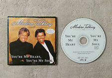 "CD AUDIO/ MODERN TALKING ""YOU'RE MY HEART, YOU'RE MY SOUL"" 1998 CD SINGLE 2T"
