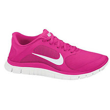 Nike Free 4.0 V3 - Womens - Pink Force/White *New* US Size 5.5 -