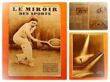 Miroir des Sports-677-18/10/1932-Tennis-Jean Borotra bat Lee en finale à Londres