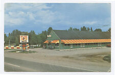 Chrome Big Chief Motel, Kalispell, MT, 1960s, Montana