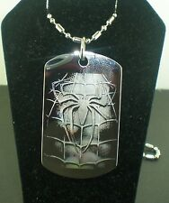 SPIDERMAN 3 VENOM  Dog Tag Pendant Necklace
