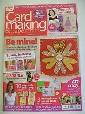 Magazine. Card Making & Papercraft. Issue 35. January 2007. Sparkly Birthdays.
