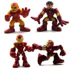 4 x Toys 2 inches Marvel Legends Super Hero Squad Iron man 3 mark Action Figure