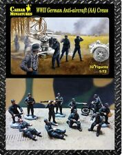 Caesar Miniatures 089 - WW2 German Anti Aircraft Crews          1:72 Figures