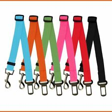 Sale Adjustable Dog Pet Car Seat Belt Harness Restraint Lead Leash Clip Fashion