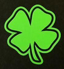 4 LEAF CLOVER DECAL STICKER LUCKY IRISH CAR FORD DODGE CHEVY VW JDM HONDA TOYOTA