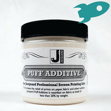Jacquard Puff Additive 118ml Waterbased Screen Printing Ink Special 3D Effect
