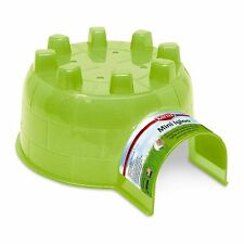 Kaytee Mini Hamster Igloo Hideout Gerbils Rats & Other Little Critters