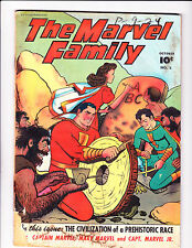 """The Marvel Family  No.5    :1946:     :""""The Civilization Of Prehistoric Race"""":"""