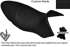 BLACK STITCH CUSTOM FITS BUELL XB9S LIGHTNING 04-09 DUAL SEAT COVER