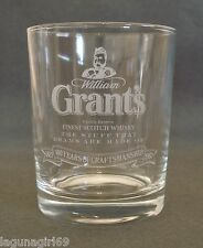 Grant's Finest Scotch Whisky 100 Year Anniversary Glass Pub Bar Whiskey Tumbler