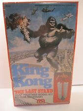 """KING KONG MODEL KIT 1976 """"THE LAST STAND"""" MEGO VG FACTORY SEALED BOX #74040"""