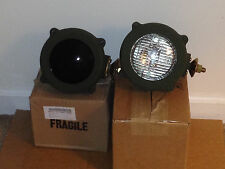NOS Military IR Infra red Lights Infrared and Clear Lenses ArmorHeadlights M35A2