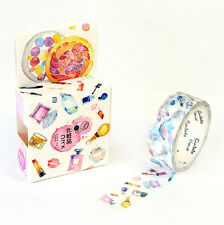 HOT Design 15mm×7M paper Sticky Adhesive Sticker Decorative Washi Tape DYI H-19