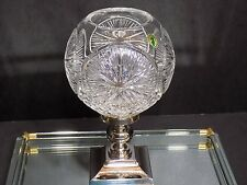 Rare 2008 WATERFORD Crystal Times Square Ball Hurricane Lamp 146101 Ireland
