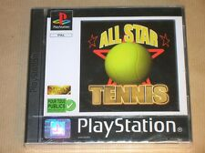 JEU PLAYSTATION / PS ONE / ALL STAR TENNIS / EN FRANCAIS / NEUF SOUS CELLO