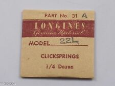 Longines Genuine Material Click Spring Part 31A for Cal. 22L