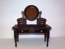 DeAgostini 1:12 Dollhouse Adjustable Mirror Vanity Table Makeup Bedroom