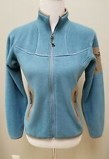 Women's Arc'teryx Covert Fleece Polartec Cardigan Sweater Jacket Size small blue