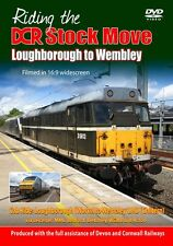 Riding the DCR Stock Move Loughborough to Wembley *DVD (Cab Ride)