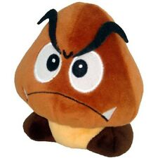"Official Super Mario Bros Goomba Soft Plush Toy - 5"" Turtle Nokonoko New"