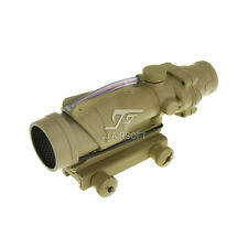 JJ Airsoft ACOG 4x32 TA31 Red Fiber Illuminated Buy One get one Killflash FREE