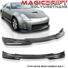 Made for Nissan 350z Z33 JDM KS PU Front Bumper Lip K-Style (Urethane)