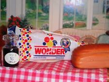 Barbie Fun Fixin Play Food Loaf of Wonder Bread & Jam Jar fits Loving Family