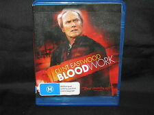 BLOOD WORK *Clint Eastwood - blu-ray movie bc