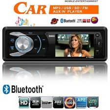 "MOSS Bluetooth 3"" HD Video Car Stereo Radio Player MP3 MP4 USB SD AUX SD Non CD"