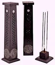 Wooden Incense Tower w/Embellishments!
