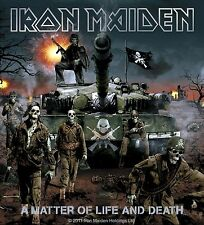 Sticker Iron Maiden A Matter Of Life And Death Album Art Metal Music Band Decal