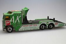 Matchbox - Kenworth Cabover Racing Transporter in grün (12,5 cm/1:90/1983)