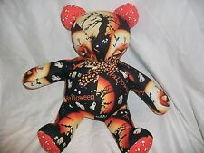 Lora Conrad Custom Made Teddy Bear Workshop Halloween Theme Plush