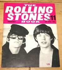 THE ROLLING STONES BOOK MONTHLY NUMBER 11 10TH APRIL 1965 VINTAGE MAGAZINE
