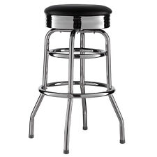 Bar stool Black American Diner Bar Barstool 50 piece Retro Chair US Style New