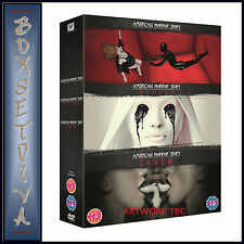 AMERICAN HORROR STORY - COMPLETE SEASONS 1 2 & 3  **BRAND NEW DVD BOXSET **