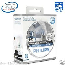 Kit Lampade 2x H1 + 2x W5W PHILIPS White Vision intense withe xenon effect 2X