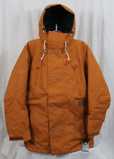 New 2014 Mens Analog Commodore Snowboard Jacket Large Adobe Burton AG