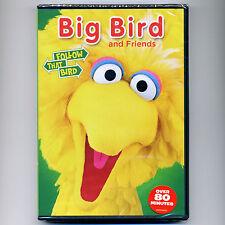 Sesame Street: Big Bird & Friends G TV, new DVD preschool educational video PBS