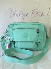 Kipling Gracy Crossbody Messenger Bag HB6260 Seafoam Green Color NWTag