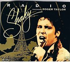 SHAKY STEVENS & ROGER TAYLOR RADIO + ACOUSTIC VERSION + OH BABY DON'T CD SINGLE