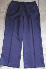 PURPLE TROUSERS BY ROMAN WITH ELASTICATED SIDE PANELS SIZE 18  -SEE MEASUREMENTS