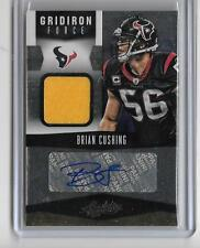 BRIAN CUSHING 2012 PANINI ABSOLUTE GAME JERSEY AUTOGRAPH AUTO #15/25