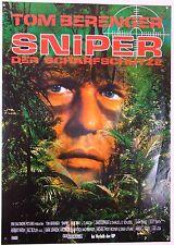 SNIPER - Der Scharfschütze TOM BERENGER - Filmplakat DIN A1 (gerollt)