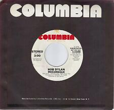 BOB DYLAN  Mozambique  rare promo 45 from 1975