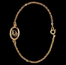 Christian Dior Symbol Bracelet Gold Plated  4 grams New
