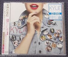 """THE BEST OF KYLIE MINOGUE"" JAPAN CD+DVD +1 BONUS TRACK *SEALED*"