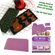 Crafters Companion BOXER Scoring Board Box Making Tool - Chocolate Gift Boxes